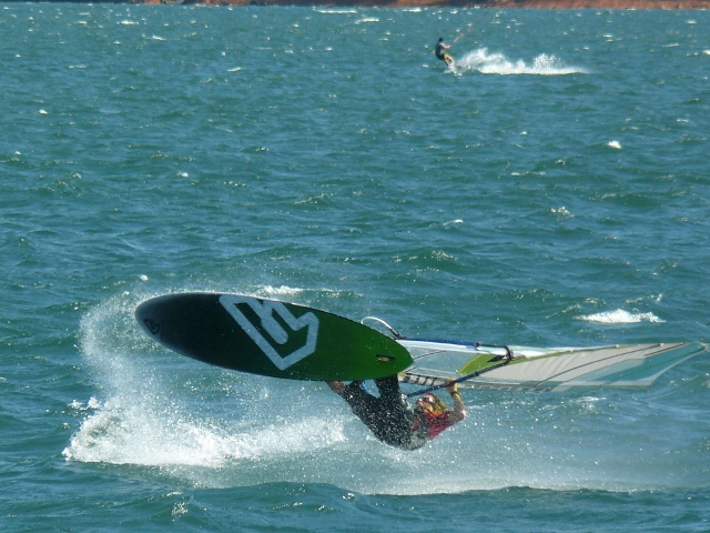 Costa rica Windsurfing at Lake Arenal